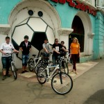 Rustavi, April 2013-Bike Club Meeting for Trip